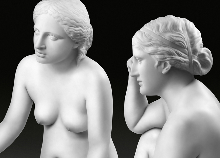 04-Seated Three Graces-detail