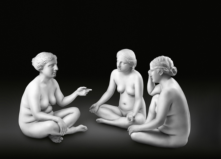 04-Seated Three Graces