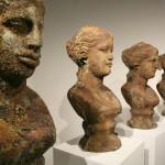 """Terms of Beauty VII,  Cast bronze, 23.6"""" x 9.8"""" x 11"""" (60 x 25 x 28 cm) each, 2010"""